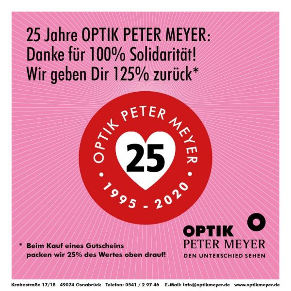 Optik Meyer Gutschein